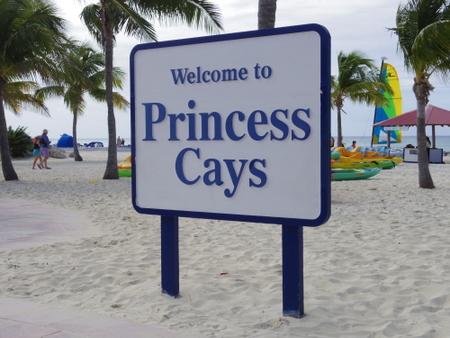 プリンセス・ケイズの看板