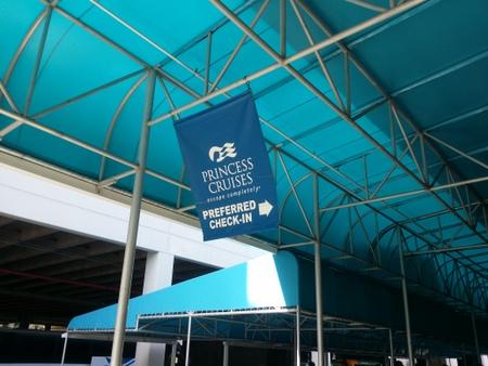 ポートエバーグレースのクルーズターミナル
