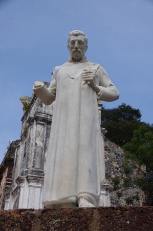 マラッカのフランシスコ・ザビエル像