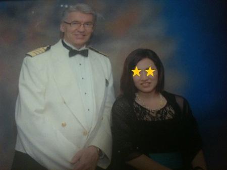 キャプテンSveree Ryanさんと記念撮影