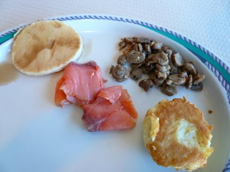 メキシカンリビエラクルーズ 2日目の朝食