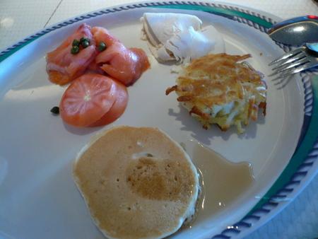 メキシカンリビエラクルーズ 7日目の朝食
