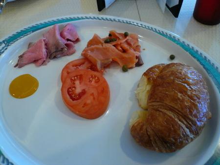 メキシカンリビエラクルーズ4日目の朝食