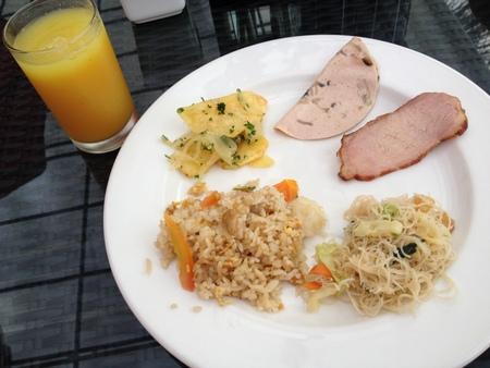 バリ島2日目の朝ご飯