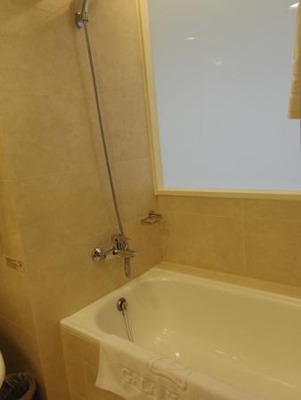 台北慶泰大飯店のバスルーム