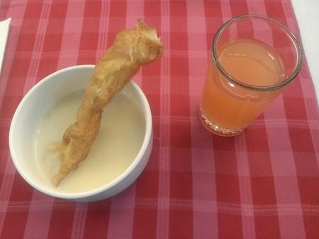 台北慶泰大飯店の朝食