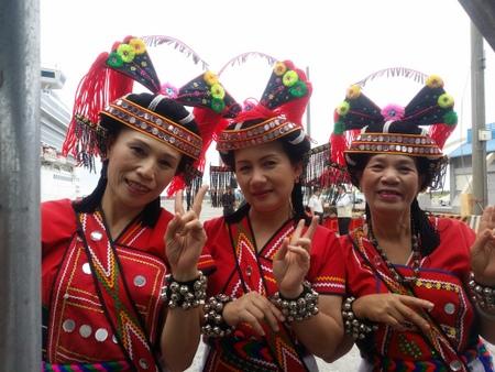 阿美属の女性たち at 花蓮港