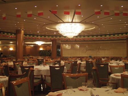 Fantasia Restaurant on コスタビクトリア