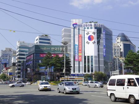 釜山の西面