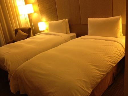 Park Taipei Hotelの客室
