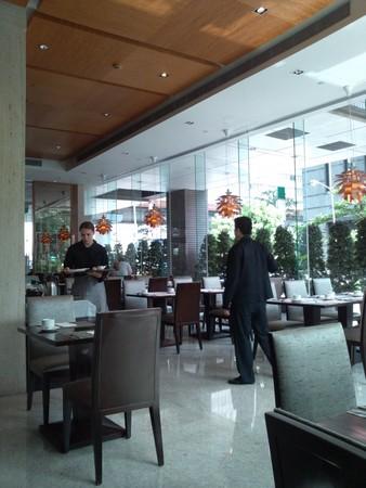 Park Taipei Hotelの朝食