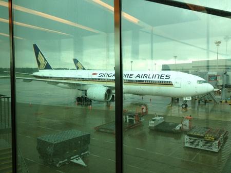 シンガポール航空 SQ634便