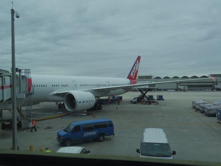 TAMブラジル航空 in マイアミ国際空港