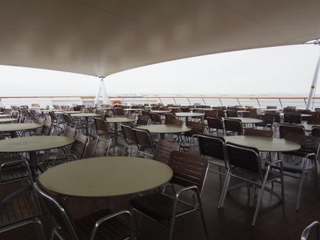 Terrace Cafe on コスタビクトリア